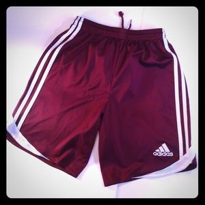 Adidas Climacool Track Red Shorts